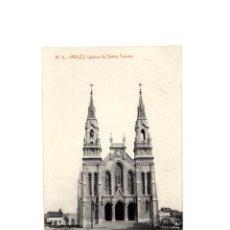Postales: AVILÉS.(ASTURIAS).-IGLESIA SANTO TOMÁS. POSTAL FOTOGRÁFICA. Lote 153952390