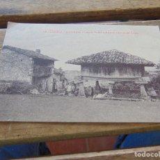 Cartes Postales: TARJETA POSTAL OVIEDO CASERIO TIPICO ASTURIANO CAMINO DEL CRISTO. Lote 153960230