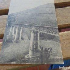 Postales: TARJETA POSTAL VIADUCTO PUENTE DE LOS FIERROS. Lote 153960874