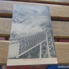 Postales: TARJETA POSTAL VIADUCTO DE ARROYO DE PARANA. Lote 153961166