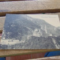 Postales: TARJETA POSTAL ASTURIAS COVADONGA BASILICA ABSIDE. Lote 153966858