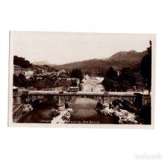 Postales: CANGAS DE ONIS.(ASTURIAS).- PASAJE DEL RIO SELLA. Lote 153987374