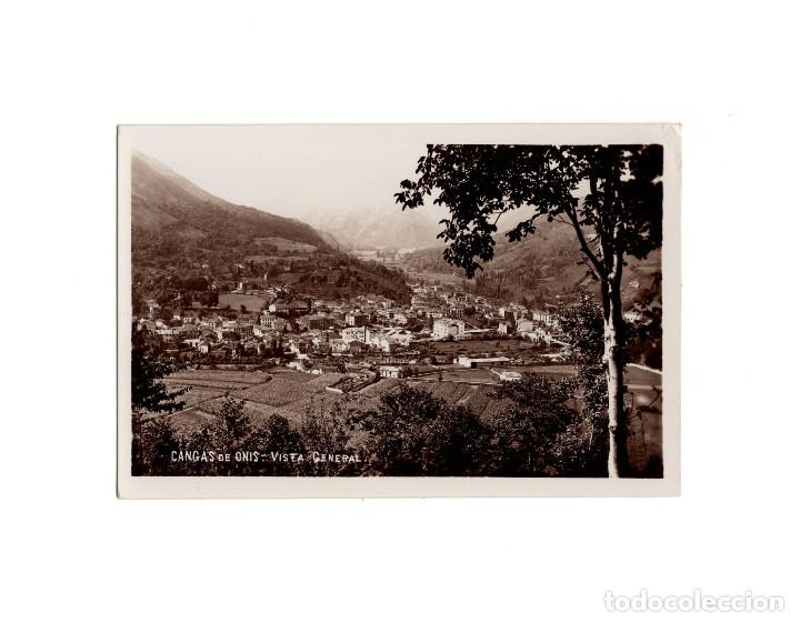 CANGAS DE ONIS.(ASTURIAS).- VISTA GENERAL (Postales - España - Asturias Antigua (hasta 1.939))
