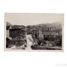 Postales: CANGAS DE ONIS.(ASTURIAS).- VISTA PARCIAL DESDE EL PUENTE ROMANO. COLECCIONES LOTY. Lote 153996602
