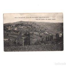 Postales: BALNEARIO DE BORINES.(ASTURIAS).- VISTA DEL PUEBLO DEL MISMO NOMBRE. Lote 154002726