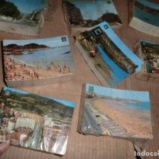 Postales: GRANDISIMO LOTE DE 2500-3000 POSTALES AÑOS 60-70 ASTURIANAS, REPETIDAS EN TACOS DE 100. Lote 154496318