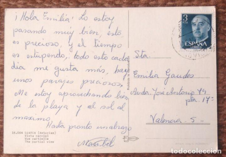 Postales: LUARCA - VISTA PARCIAL - Foto 2 - 155213470