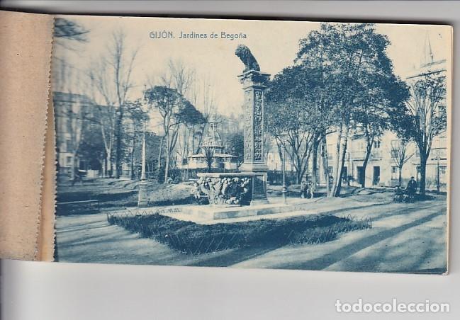 Postcards: RECUERDO DE GIJÓN (12 POSTALES) - Foto 2 - 155497330