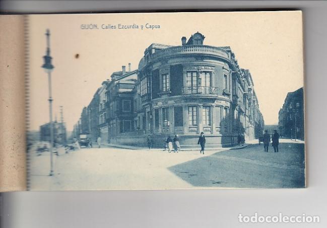 Postcards: RECUERDO DE GIJÓN (12 POSTALES) - Foto 4 - 155497330