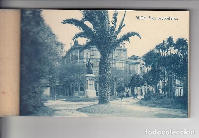 Postcards: RECUERDO DE GIJÓN (12 POSTALES) - Foto 5 - 155497330