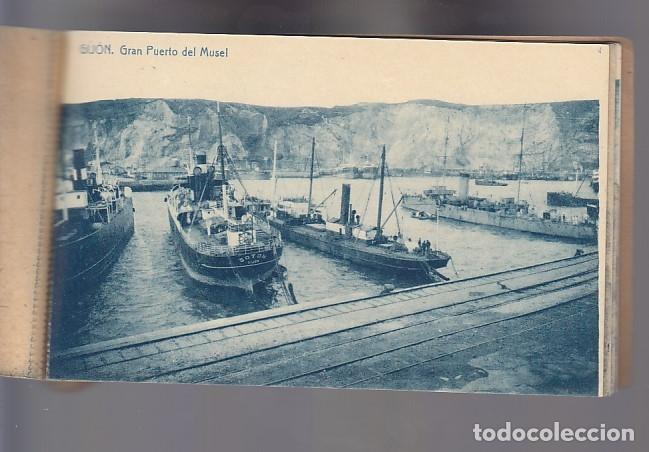 Postcards: RECUERDO DE GIJÓN (12 POSTALES) - Foto 11 - 155497330
