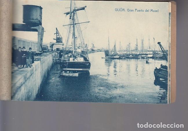 Postcards: RECUERDO DE GIJÓN (12 POSTALES) - Foto 12 - 155497330