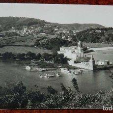 Postales: FOTO POSTAL DE LA IGLESIA PARROQUIAL DE BARRO Y NIEMBRO, LLANES, ASTURIAS, ED. JOSE LUIS ROZAS, NO C. Lote 156456958
