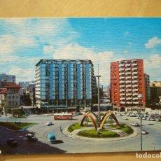 Postales: GIJÓN (ASTURIAS) - PLAZA DE LOS MARTIRES. Lote 156607922