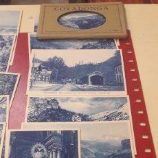 Postales: 12 POSTALES COVADONGA HUECOGRABADO. Lote 156650493