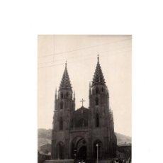 Postales: SAMA DE LANGREO.(ASTURIAS).- IGLESIA PARROQUIAL.. Lote 156904594