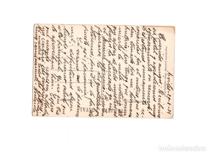 Postales: AVILÉS.(ASTURIAS).- CALLE DE JOSE M. PEDREGAL, COLOREADA. - Foto 2 - 156911610