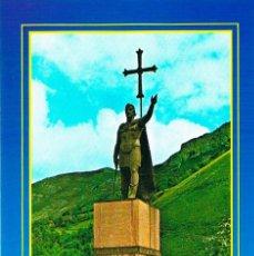 Postales: COVADONGA, MONUMENTO AL REY DON PELAYO. Lote 159656842