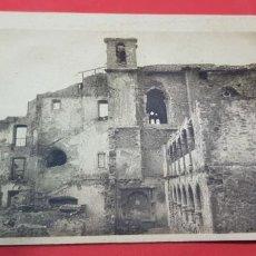 Postales: OVIEDO. RUINAS DEL CONVENTO DE SANTO DOMINGO,PARAPETO GLORIOSO DE LA DEFENSA DE LA CIUDAD. Lote 159888334