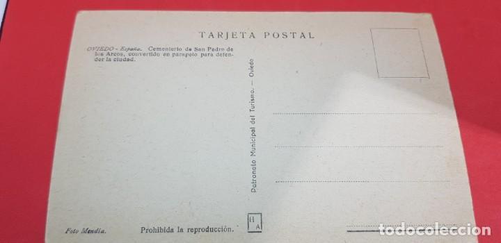 Postales: OVIEDO. CEMENTERIO DE SAN PEDRO DE LOS ARCOS - Foto 2 - 159896278