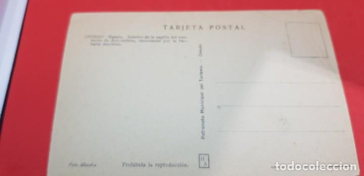 Postales: OVIEDO. INTERIOR DE LA CAPILLA DEL CONVENTO DE LAS ADORATRICES - Foto 2 - 159897138