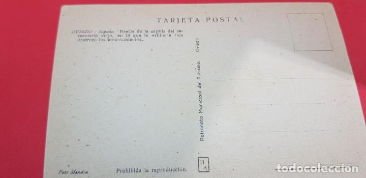 Postales: OVIEDO. RESTOS DE LA CAPILLA DEL CEMENTERIO VIEJO - Foto 2 - 159897466