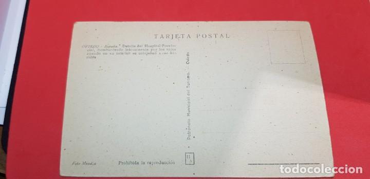 Postales: OVIEDO. DETALLE DEL HOSPITAL PROVINCIAL - Foto 2 - 159939326