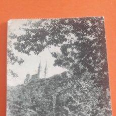 Postales: COVADONGA DESDE REPELAO COCHE Y PERSONAS POSTAL ANTIGUA. Lote 160458517