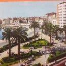 Postales: GIJÓN MUELLE Y JARDINES DE LA REINA. Lote 160527797