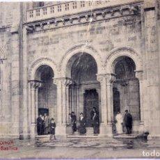 Postales: P-9336. COVADONGA. PORTICO DE LA BASILICA AÑO 1931. CIRCULADA. COLECCIÓN V. ERO NÚM. 28. Lote 160750026