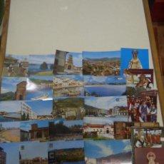 Postales: LOTE 35 POSTALES DE ASTURIAS VARIADAS. Lote 161131066