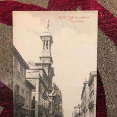 Postales: GIJON.CALLE DE JOVELLANOS. Lote 162411902
