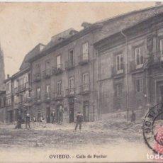 Postales: OVIEDO (ASTURIAS) - CALLE DE PORLIER. Lote 164009674