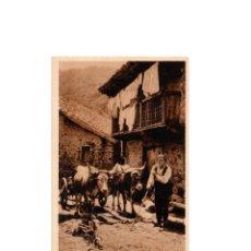 Postales: SIERRA PALOBERA. CARRO DEL PAÍS. MARQUÉS DE SANTA MARÍA DEL VILLAR.. Lote 164212114