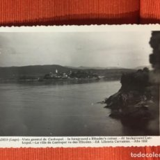 Postales: VISTA GENERAL DE CASTROPOL ASTURIAS DESDE RIBADEO LUGO P 11 LIBRERIA CERVANTES 1952. Lote 164981406