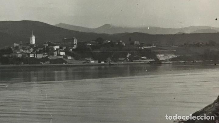 Postales: vista general de castropol asturias desde ribadeo lugo p 11 libreria cervantes 1952 - Foto 2 - 164981406