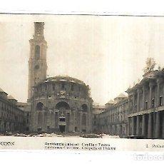 Postales: TARJETA POSTAL. GIJON. RESIDENCIA LABORAL. CAPILLA Y TEATRO. 72. L.ROISIN. Lote 165146174