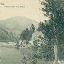 Postales: ASTURIAS. ORILLA DEL RÍO SELLA. HACIA 1910. MUY RARA.. Lote 165373738