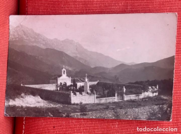 ALLES ASTURIAS CEMENTERIO DE ALLES POSTAL SOBREVILLA PEÑAMERA ALTA (Postales - España - Asturias Moderna (desde 1.940))