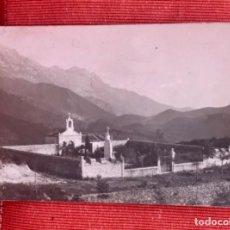 Postales: ALLES ASTURIAS CEMENTERIO DE ALLES POSTAL SOBREVILLA PEÑAMERA ALTA. Lote 165382098