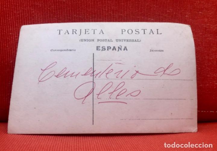 Postales: alles asturias cementerio de alles postal sobrevilla peñamera alta - Foto 3 - 165382098