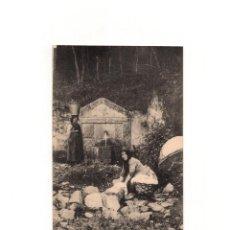 Postales: SAN ESTEBAN DE PRAVIA.(ASTURIA).- FUENTE DE ROQUE.. Lote 165456982