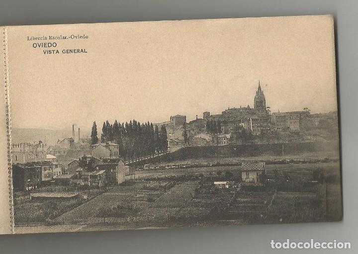 Postales: BLOC DE 24 POSTALES ARTISTICAS DE OVIEDO- FOTOTIPIA DE HAUSER Y MENET-FALTA LA TAPA TRASERA - Foto 2 - 165859758