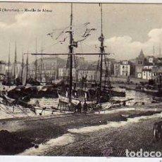 Postales: ASTURIAS. GIJON MUELLE DE ABTAO. BARCOS. M N PARIS. SIN CIRCULAR.. Lote 165901970