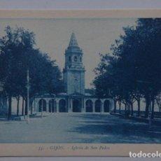 Postales: GIJON , PLAYA DE SAN LORENZO. Lote 166035298