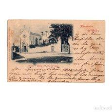 Postales: RECUERDO DE GIJÓN. SOMIÓ. QUINTA Y CAPILLA DEL OBISPO. . Lote 166114134
