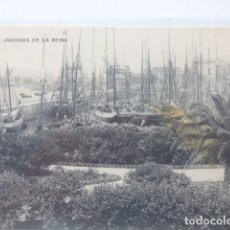Postales: GIJON , JARDINES DE LA REINA. Lote 166141158