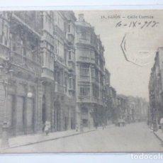 Postales: GIJON , CALLE CORRIDA. Lote 166146918