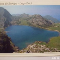 Postales: POSTAL. 235. PICOS DE EUROPA. LAGO ENOL. ED. MORO. ESCRITA. . Lote 166280762