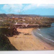 Postales: ASTURIAS: PERLORA PLAYA DE CARRANQUES.ED ARRIBAS.CIRCULADA.1970. Lote 166944302
